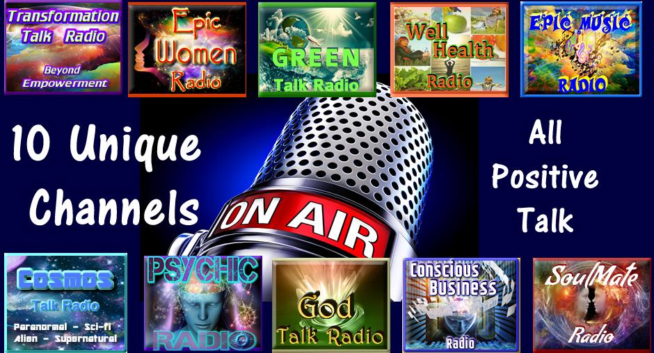 unique positive talk channels